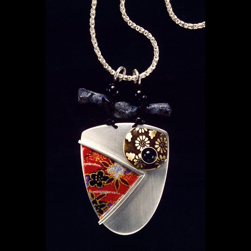 Silver Flower Pendant 1996