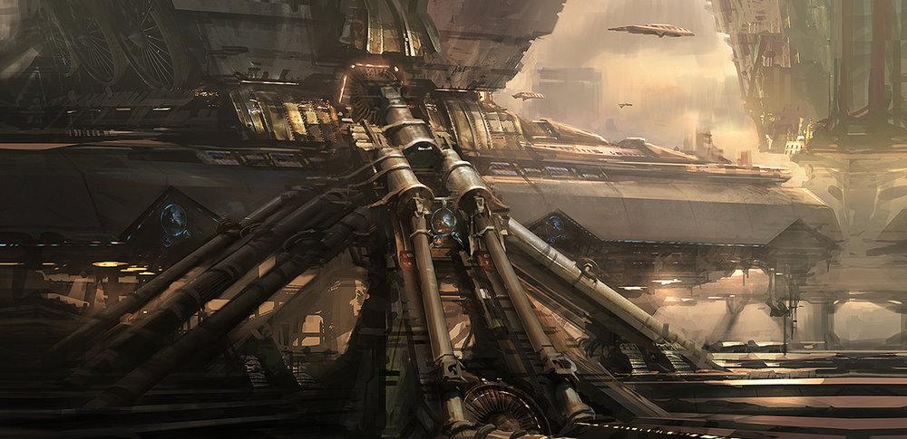 Film Concept Design: Transformers 3