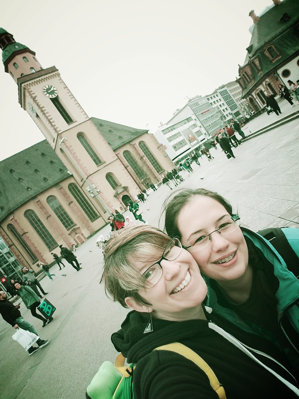 saskia and I