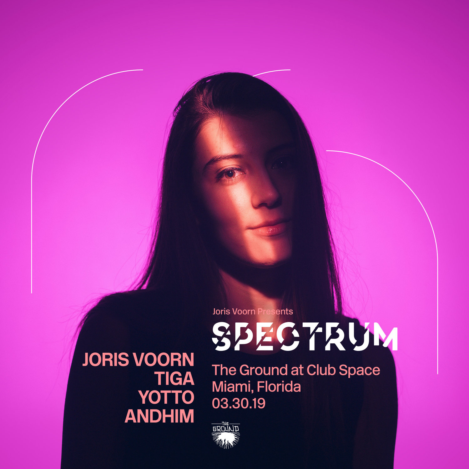 spectrum at the ground — CLUB SPACE