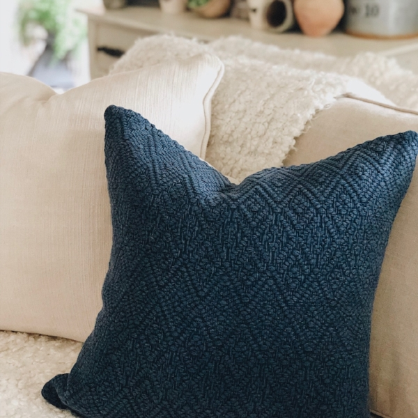 Pottery Barn pillow cover, found  here .
