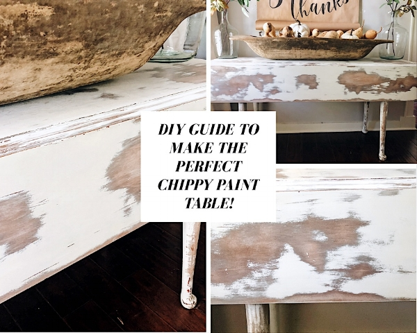 Click photo to receive a FREE DIY guide on making the perfect chippy paint table!