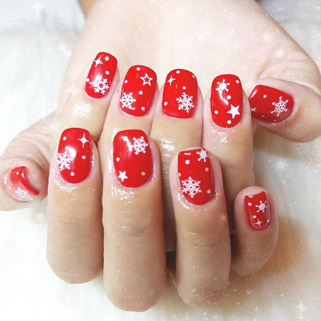 #christmasnails 🎅 🌟