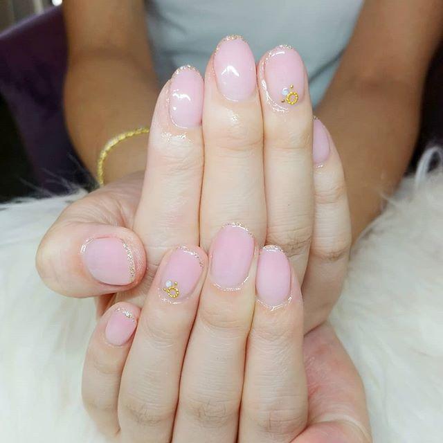 #うるつやネイル 風💅😍❤#miaminails #nails
