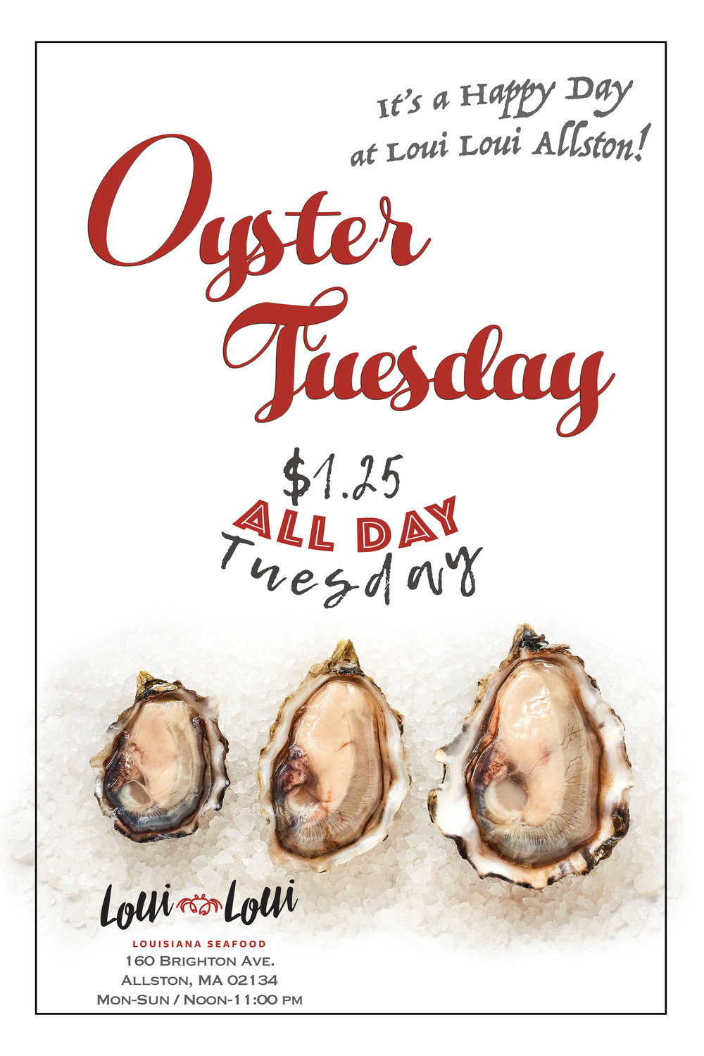 OysterTuesday