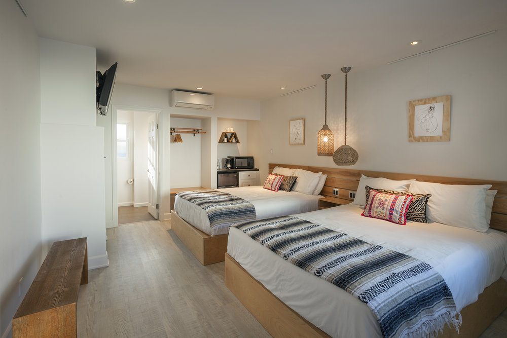 Room 8 and 9 Blue Sands Inn Santa Barbara