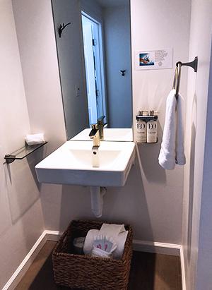 ADA Accessible bathroom sink