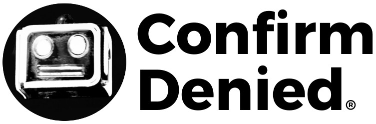 Confirm Denied Combination Mark Logo