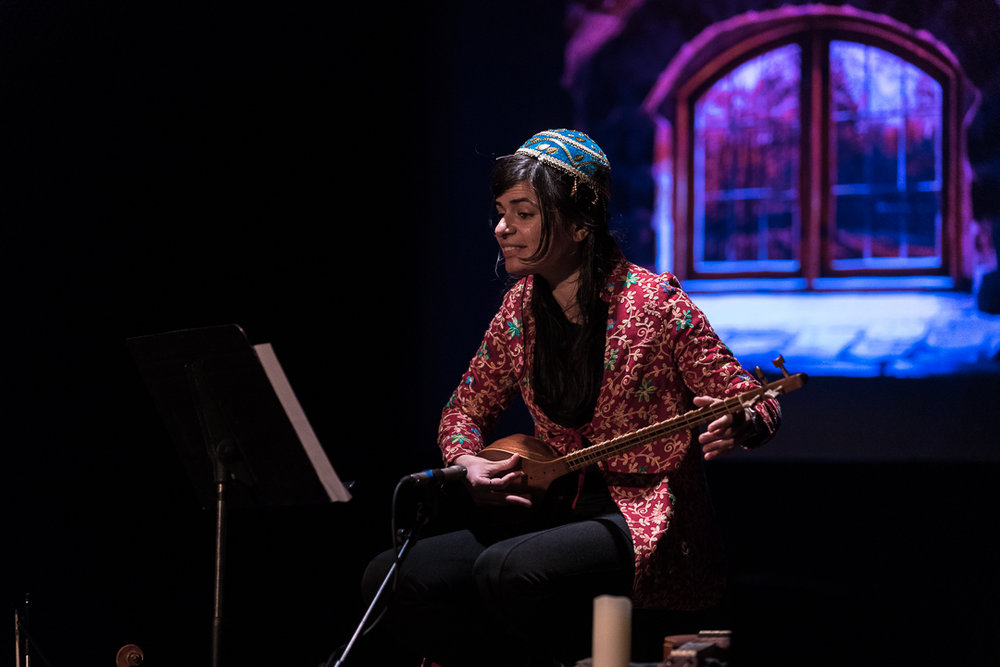 Searching for Spring—A Journey to Nowruz; commissioned by Montalvo Arts Center, Saratoga, California, March 2018