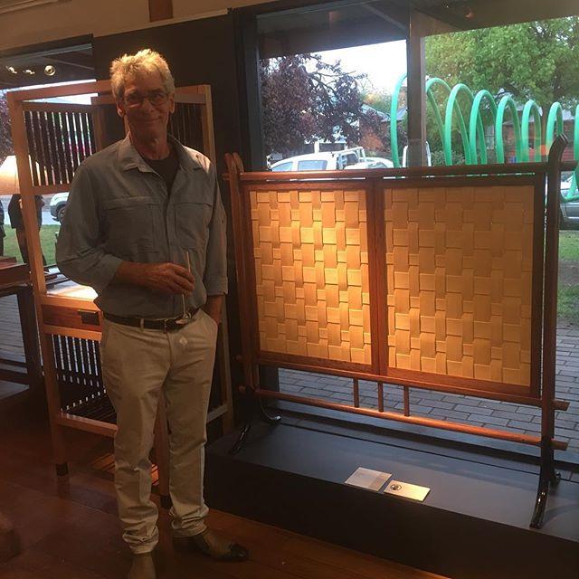 Studio furniture exhibition in Bungendore. I didn't win.😕