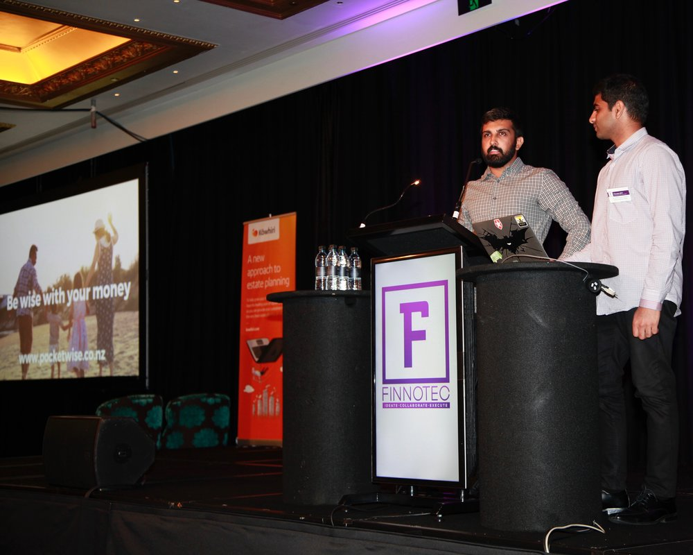 Prashant Trivedy, Santhan Kusam, Co-founders, PocketWise