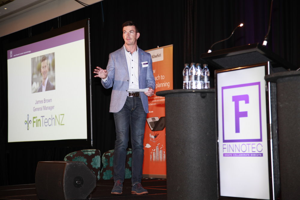 James Brown, General Manager, FintechNZ