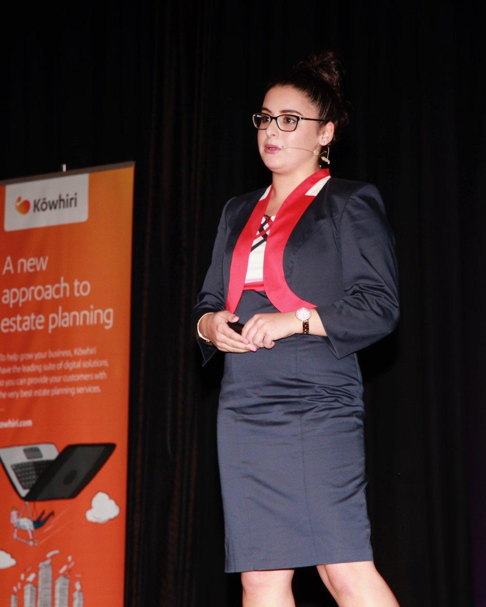 Alexia Hilbertidou, Founder, GirlBoss NZ