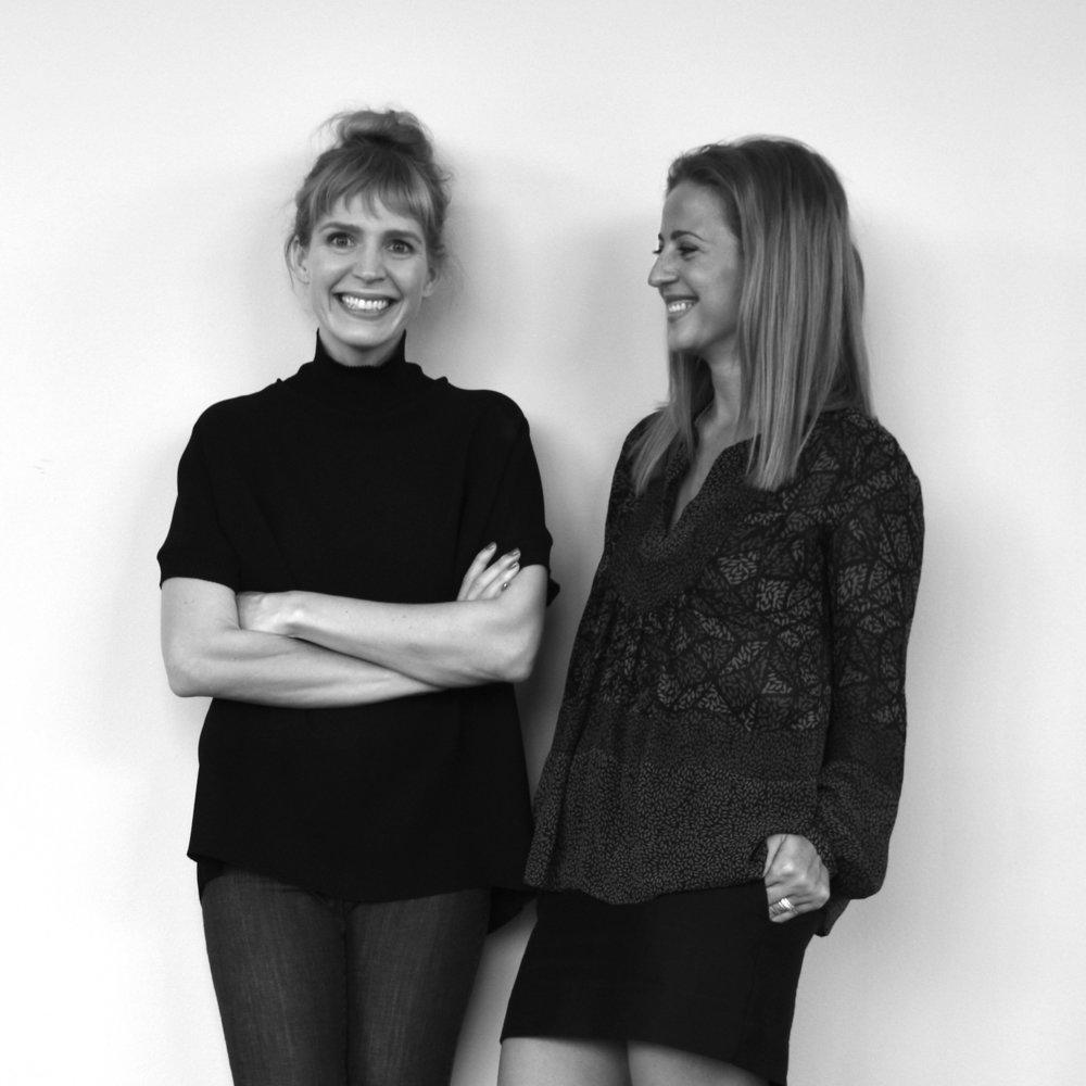 Illustration of STUDIOOSS Co-founders Emmanuela Albert and Jessica Blaustein