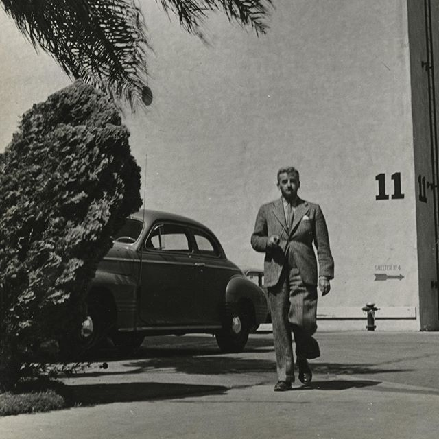 #Faulkner worked on several #screenplays while in #Hollywood. Which one is your favorite? To Have and Have Not? The Big Sleep? . . . . Photo from the William Faulkner collections, Albert and Shirley Small Special Collections Library, University of Virginia