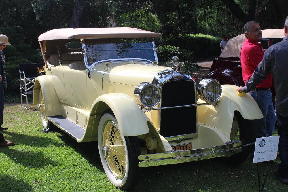 1921 Duesenberg A Dual Cowl Phaeton, Fleetwood Ron Hansen.JPG