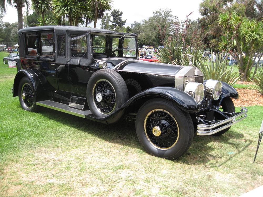 1925 Rolls-Royce Silver Ghost Town Car, Merrimac Michael Adams.JPG