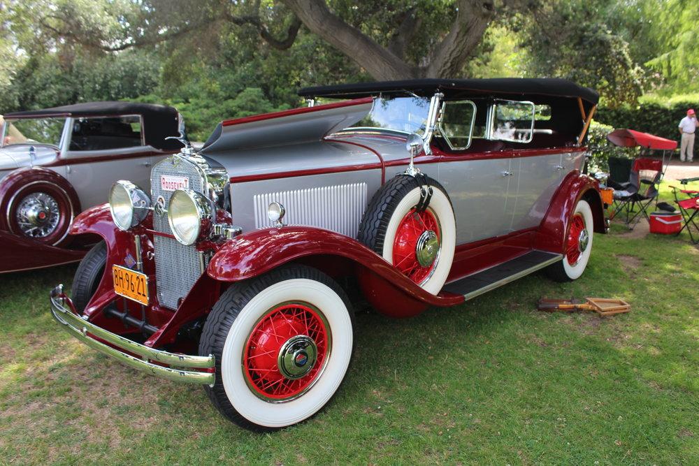 1930 LaSalle 340 Phaeton, Fleetwood Paul Whitney.JPG