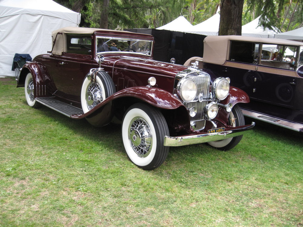1932 Stutz DV32 Convertible Coupe LeBaron Bruce McBroom.JPG