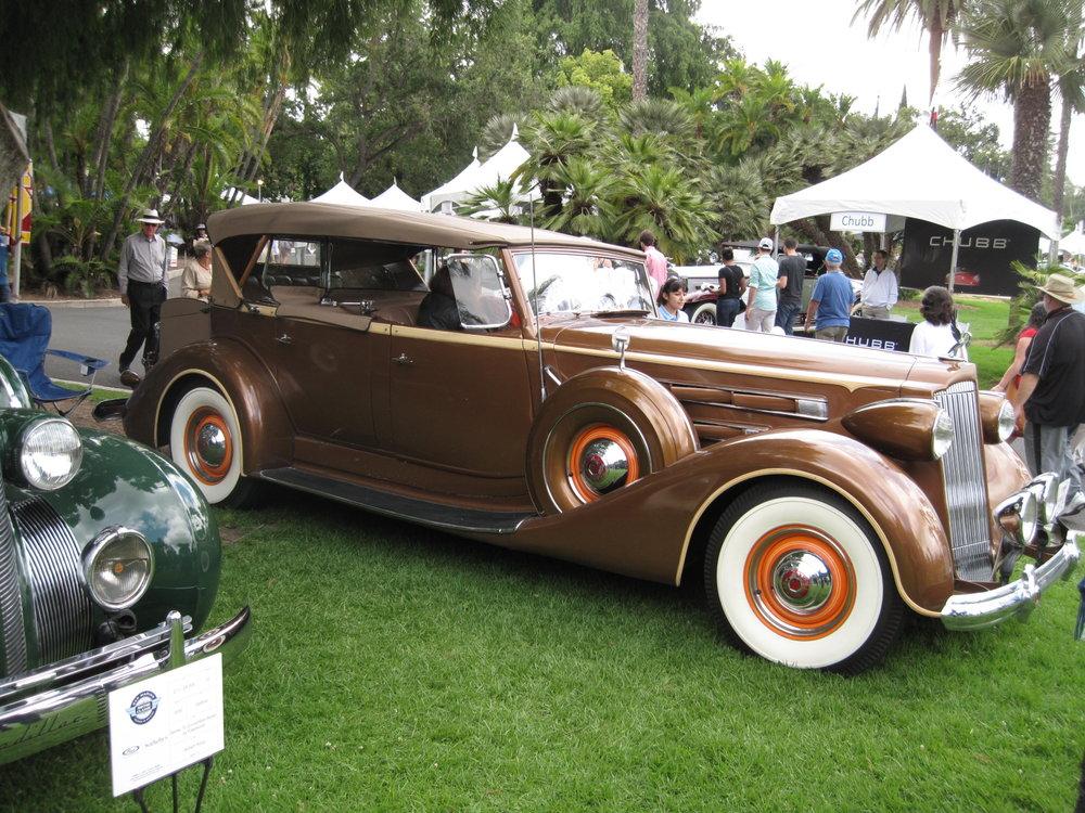 1937 Packard 1507 Sport Phaeton, Kellner Terry Kaplan.JPG
