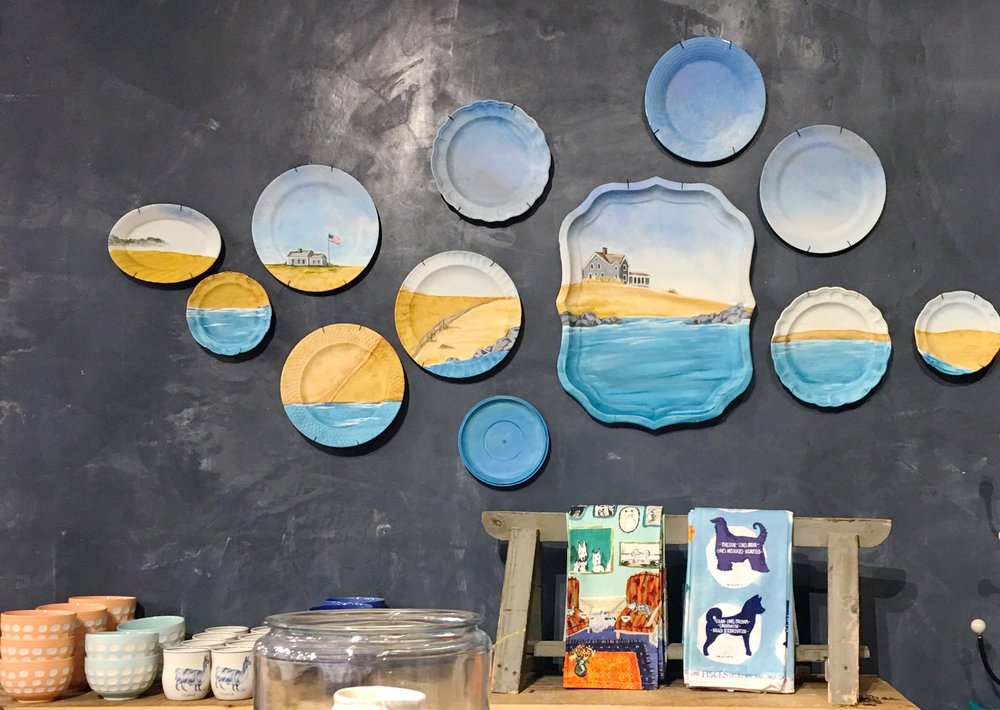 Beach Scene plates