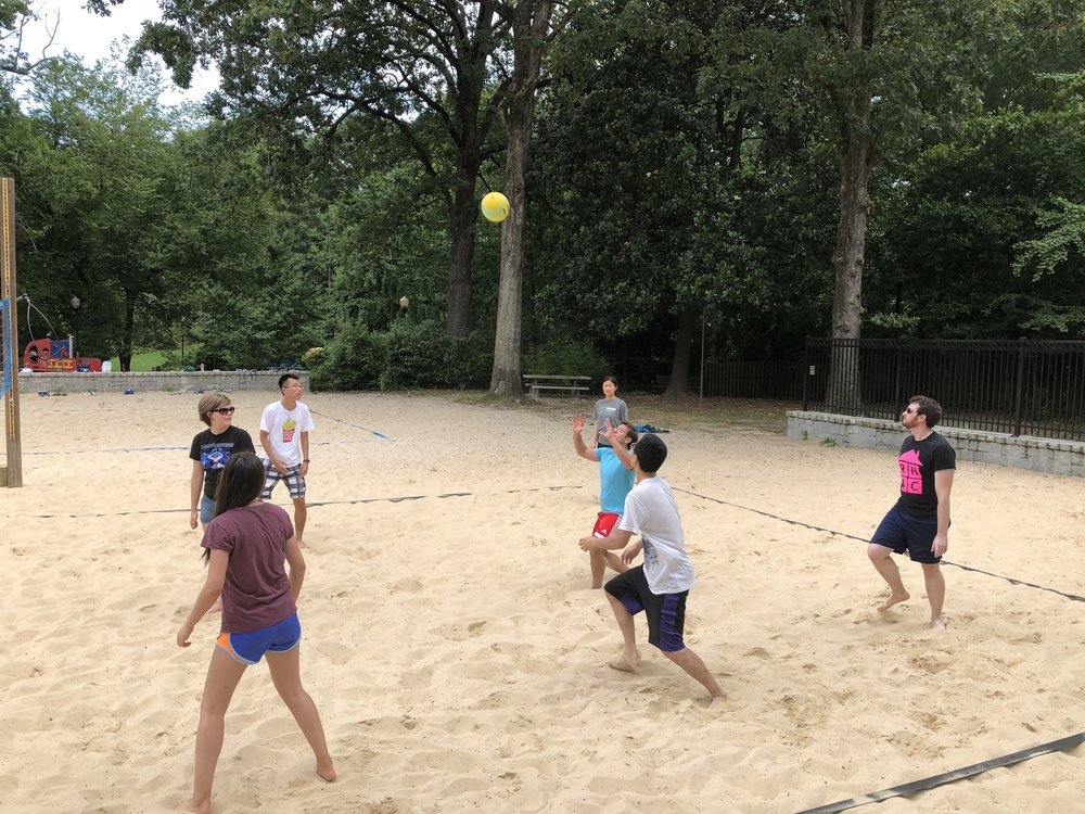 June 2018 beach volleyball