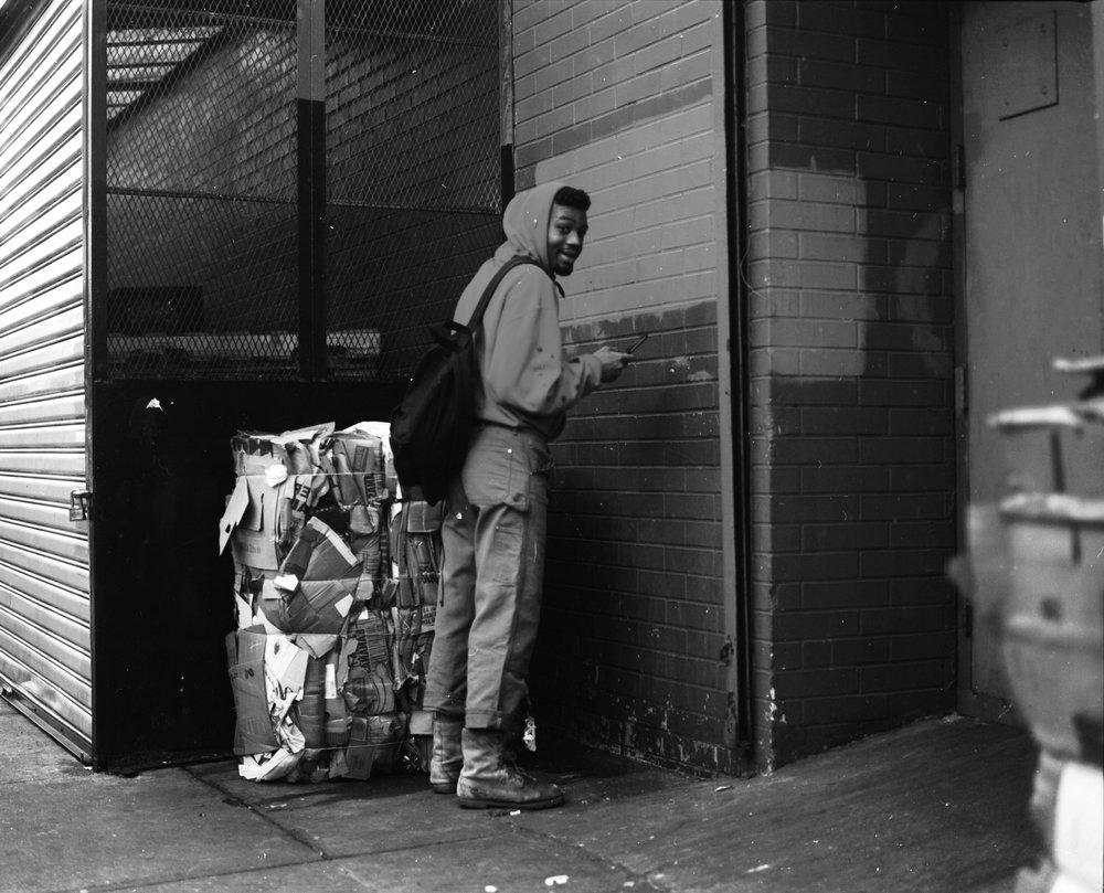 East Village 2016, Rah peeing.