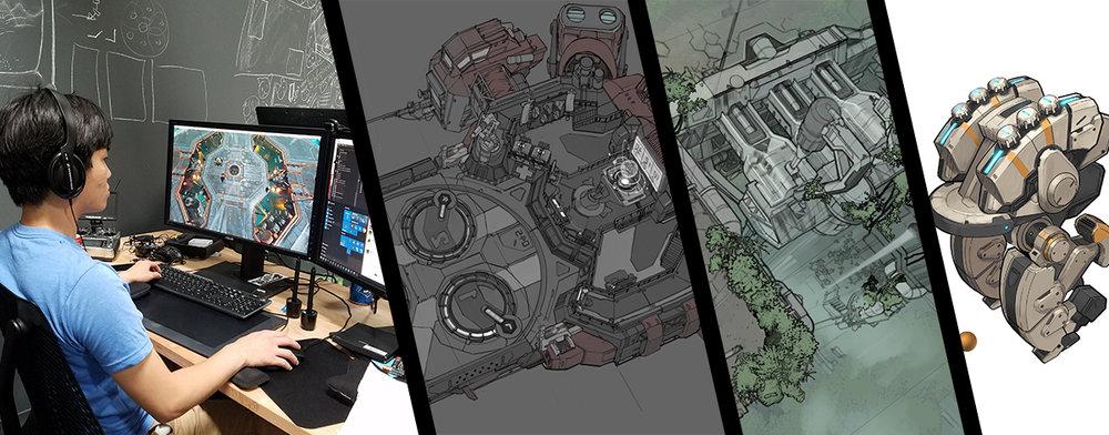 Concept Artist Internship Sparkypants