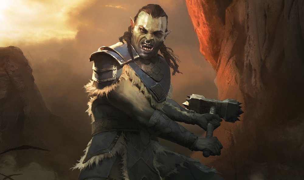 Fighters Guild Elite    - Orc, Strength