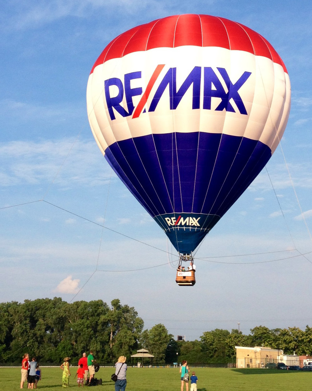 The Remax Hot Air Balloon tether rides will begin at 5:30 a.m. and end by 8:00 a.m. each day. Cost is $5.00 for children and $10.00 for adults. A parking and admission pass is required to access the balloons. -