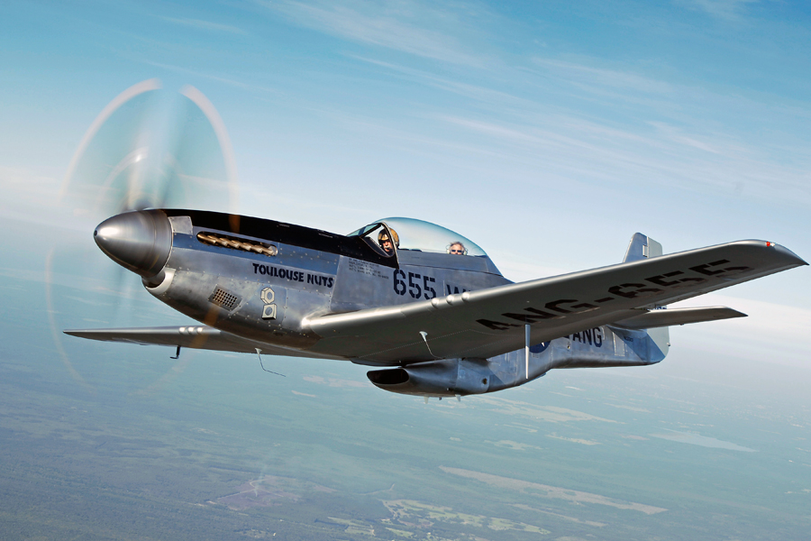 P-51 Mustang Rides  $375 for 20 minutes -
