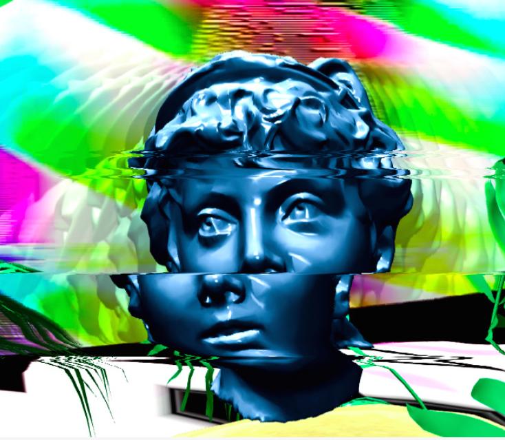 Mr Saboteur 逃走迷路氏  3D ANIMATION, VJS  Artiste visuel montréalais, Ganesh Baron Aloir s'intéresse à l'altération de l'état de la conscience. Son approche psychédélique explore le phénomène du rêve lucide où dissonance et paradoxe se marient. Il expérimente la synthèse vidéo et la dégradation des signaux analogiques. L'esthétique particulière de ses créations est dûe à l'amalgame des images issues des circuits électroniques trafiqués qu'il confectionne et de ses animations 3D. Sa pratique s'ancre dans un processus organique et semi-aléatoire qu'il apprivoise et modèle selon ses intentions. ➣ À VENIR