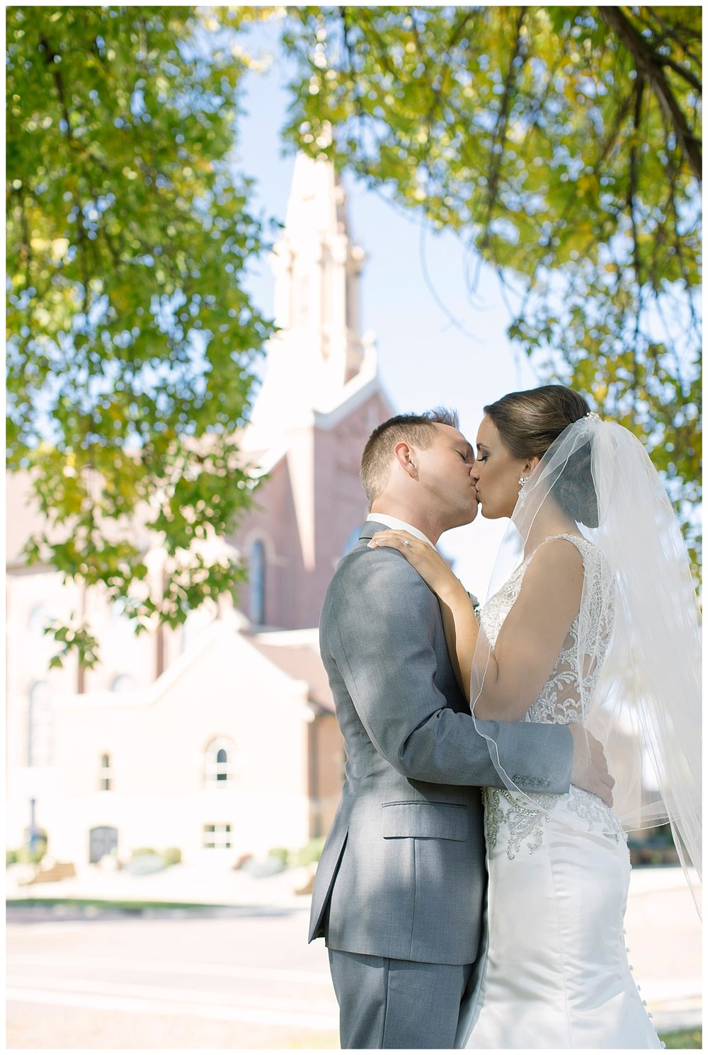 Holy Redeemer Church Marshall Fall Minnesota Wedding Photographer | Bethany Melvin Photography