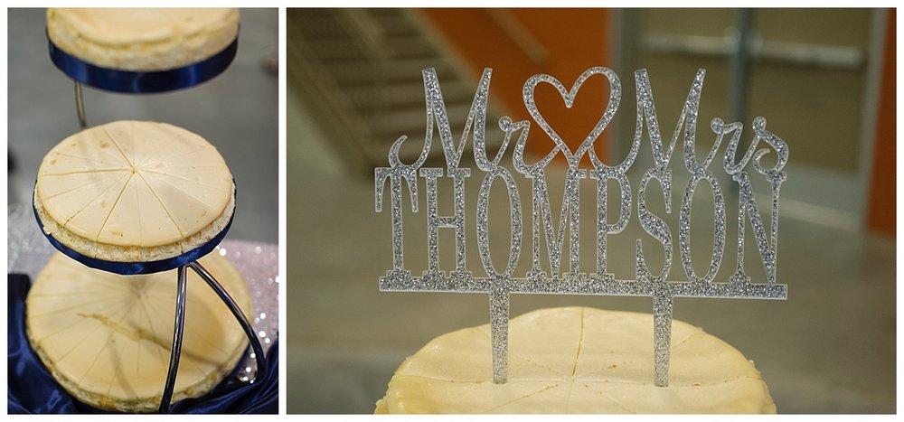 Muddy Paws Cheesecake | Red Baron Arena Marshall Minnesota Wedding Photographer | Bethany Melvin Photography