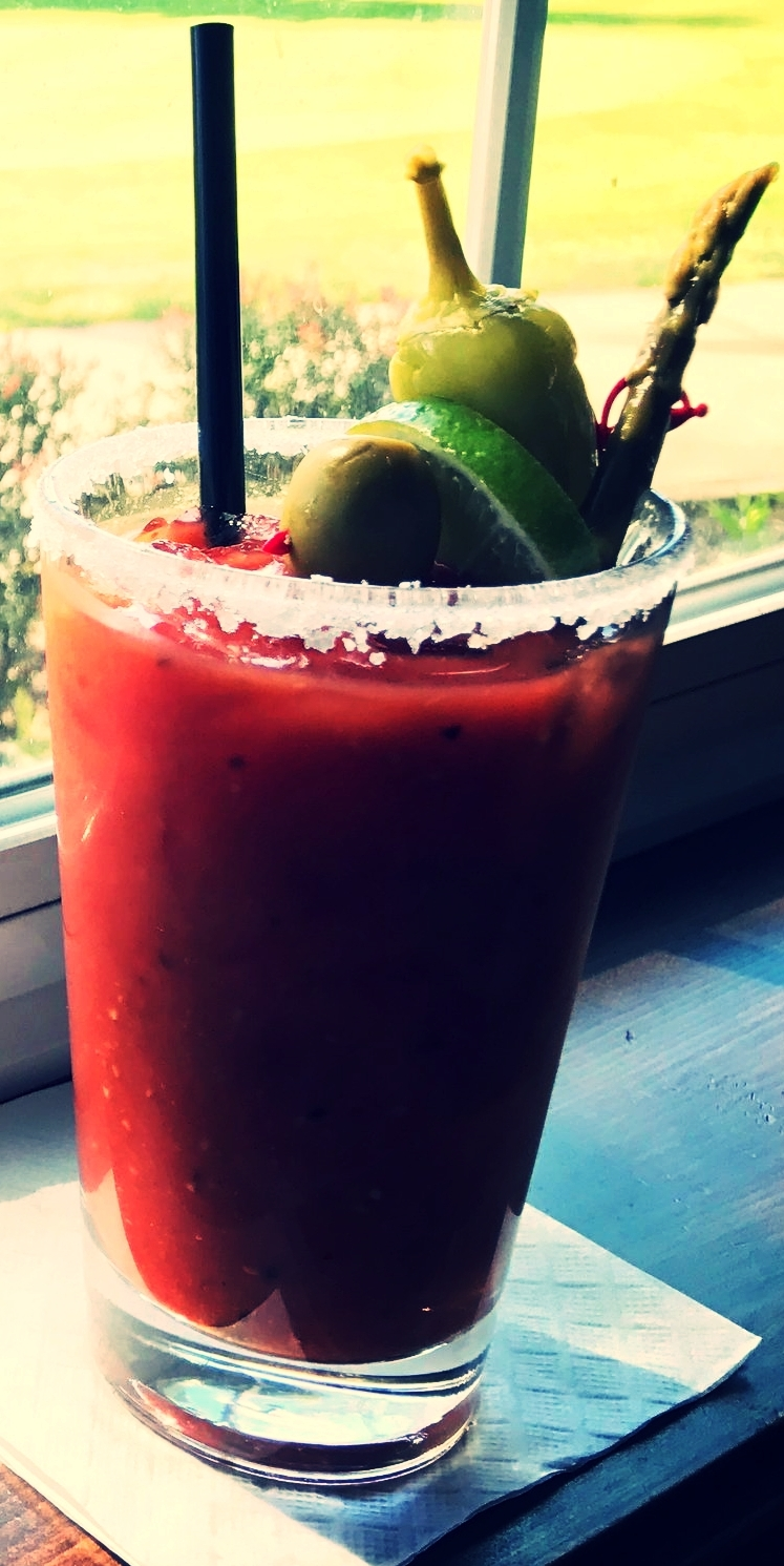 Start Your Day With A Bloody Mary at the Golf Course