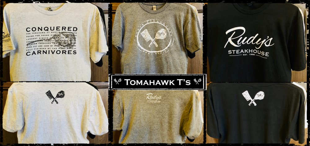 Rudy's Steakhouse Tomahawk Shirts.jpg