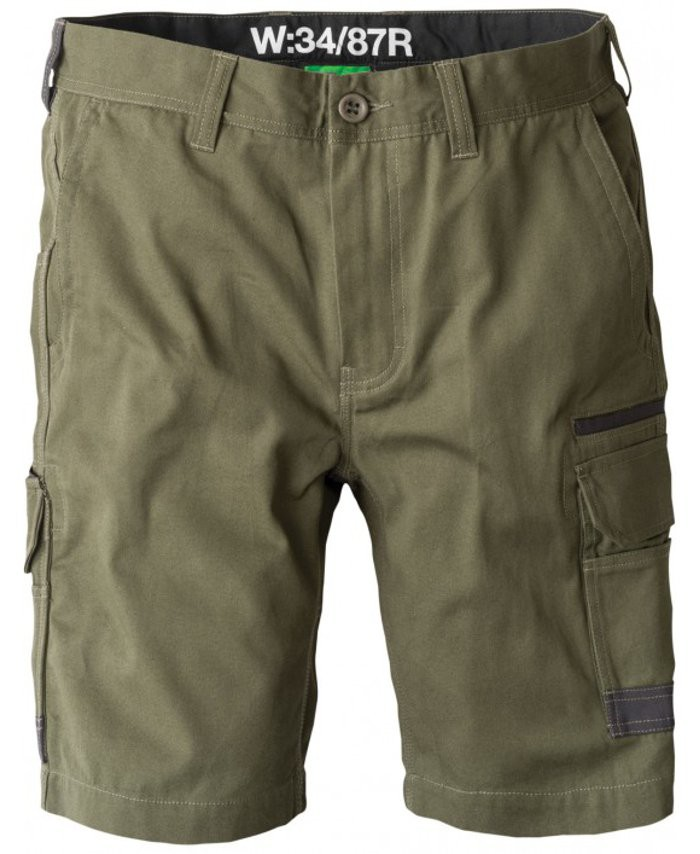 FXD Workwear WS-1 work shorts green