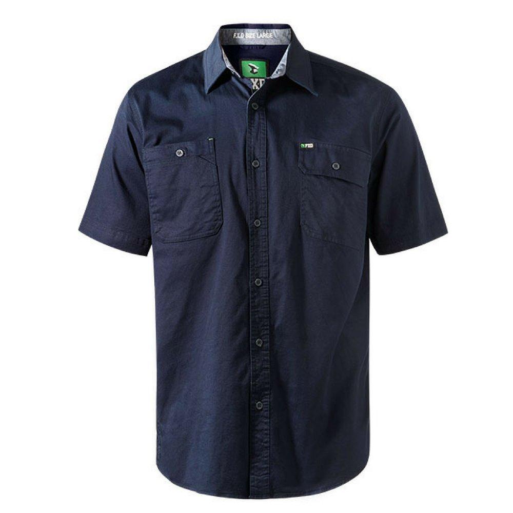 FXD Workwear SSH-1 work shirt short sleeve navy