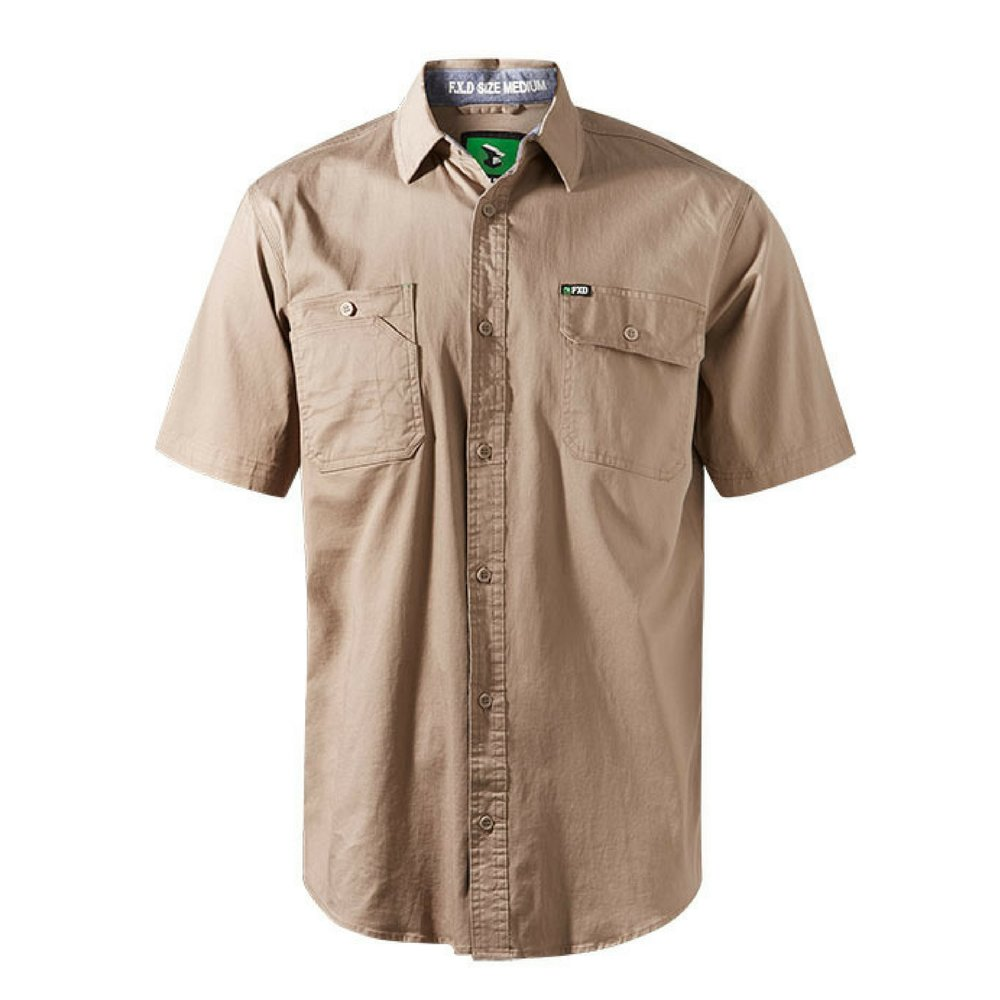 FXD Workwear SSH-1 work shirt short sleeve khaki