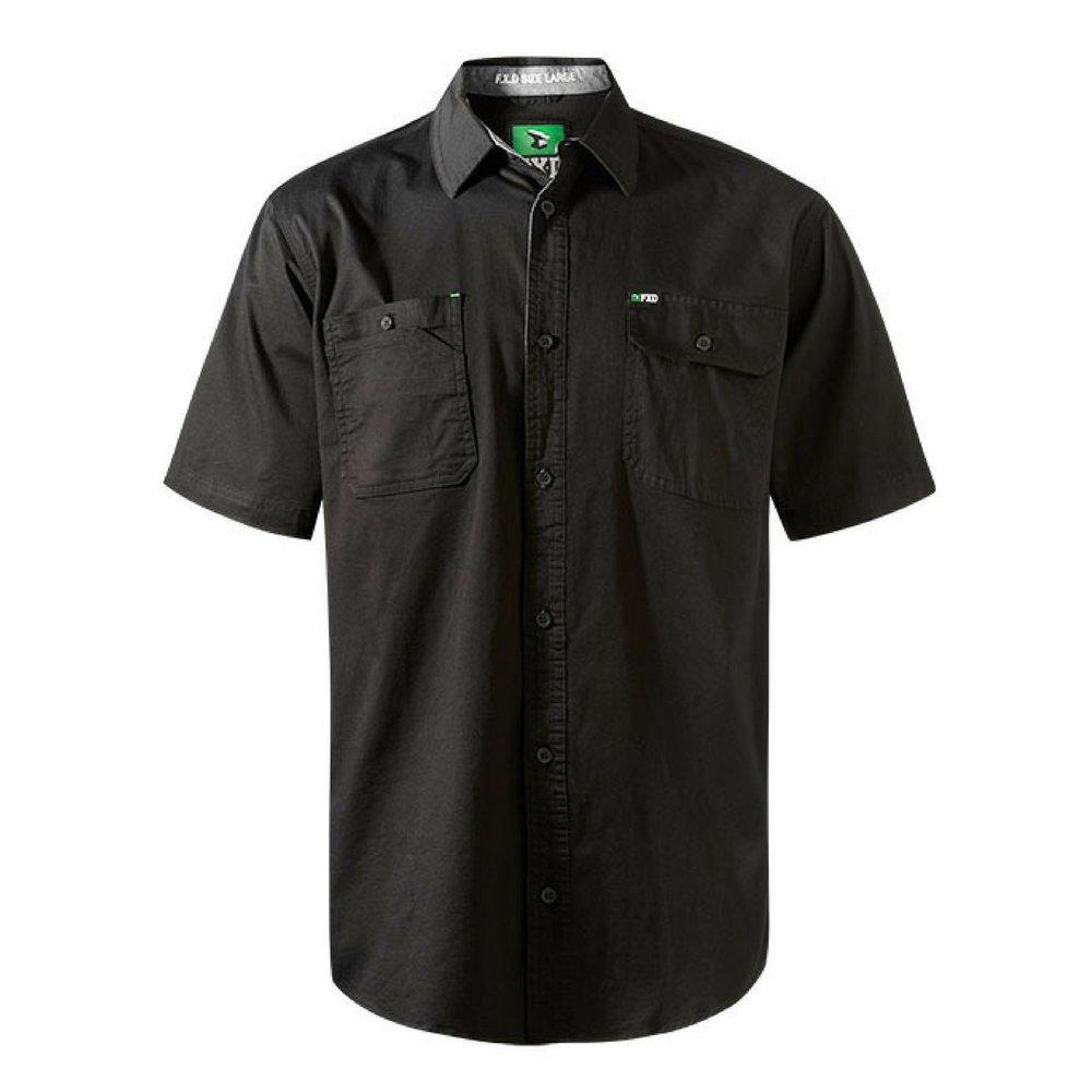 FXD Workwear SSH-1 work shirt short sleeve black