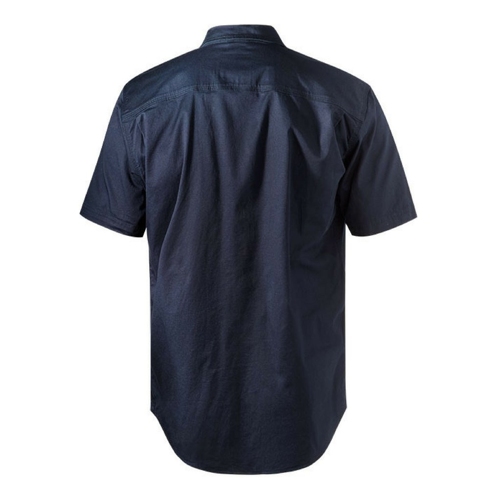 FXD Workwear SSH-1 work shirt short sleeve navy back