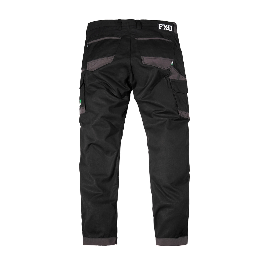 FXD Workwear WP1 work pants black rear.jpg