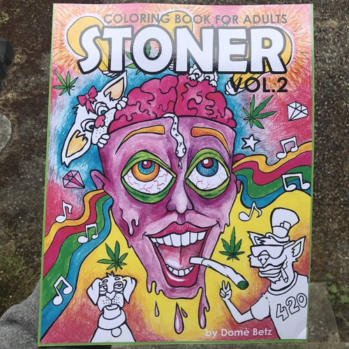 STONER adult coloring books — evanslogic.com