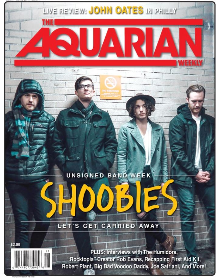 03/14/18 — Shoobies first cover! The Aquarian did an interview on Shoobies for their unsigned band edition. Click the picture above to check out the interview!