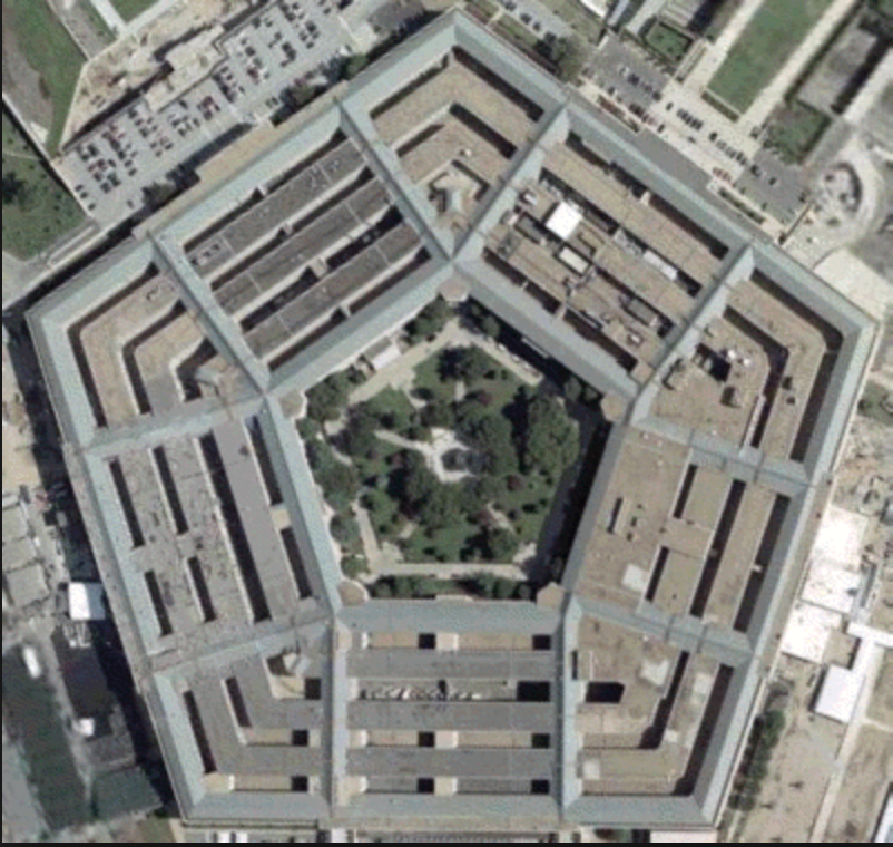 The Pentagon. United States of America's Defense Department HQ.