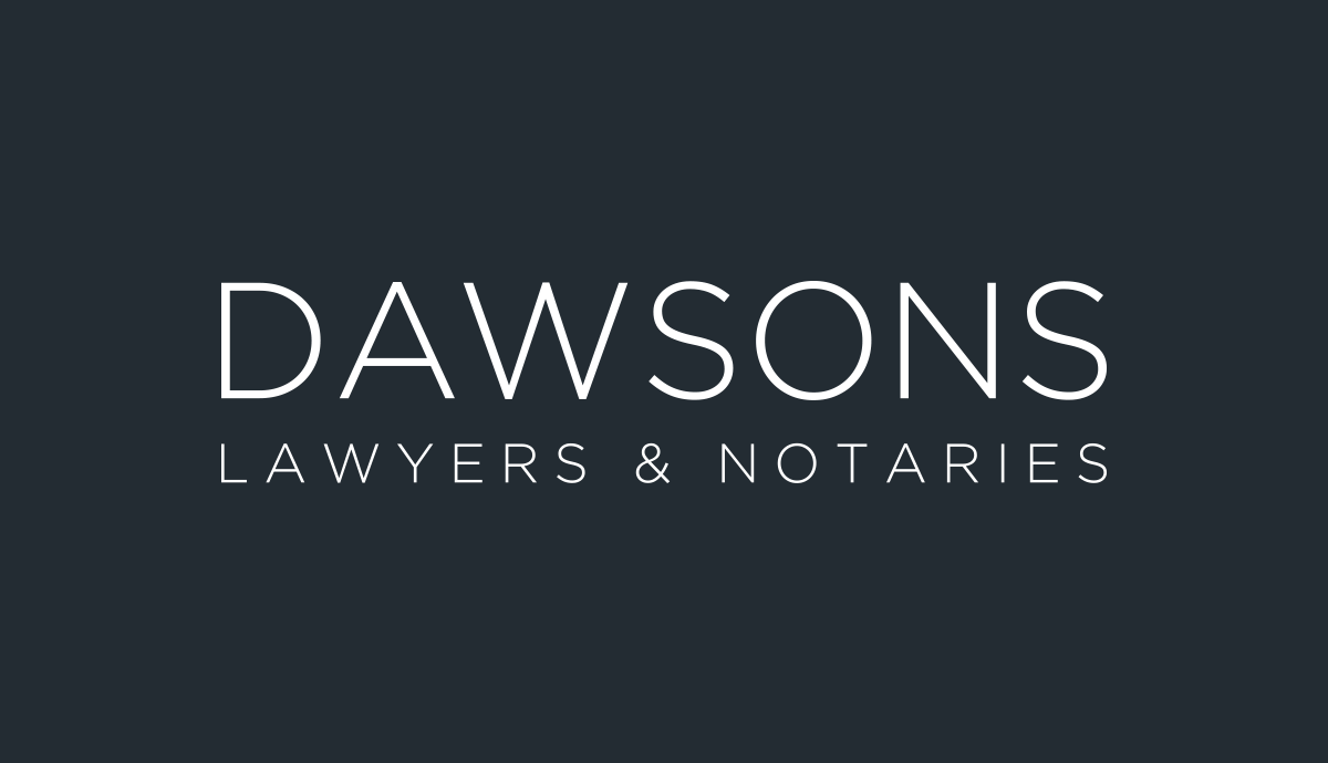 Dawsons Lawyers Notaries Deed Of Acknowledgment Of Debt