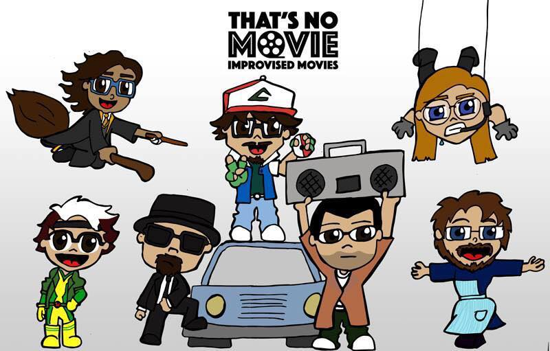 Team Drawing - That'sNoMovie Improvised Movies.jpg