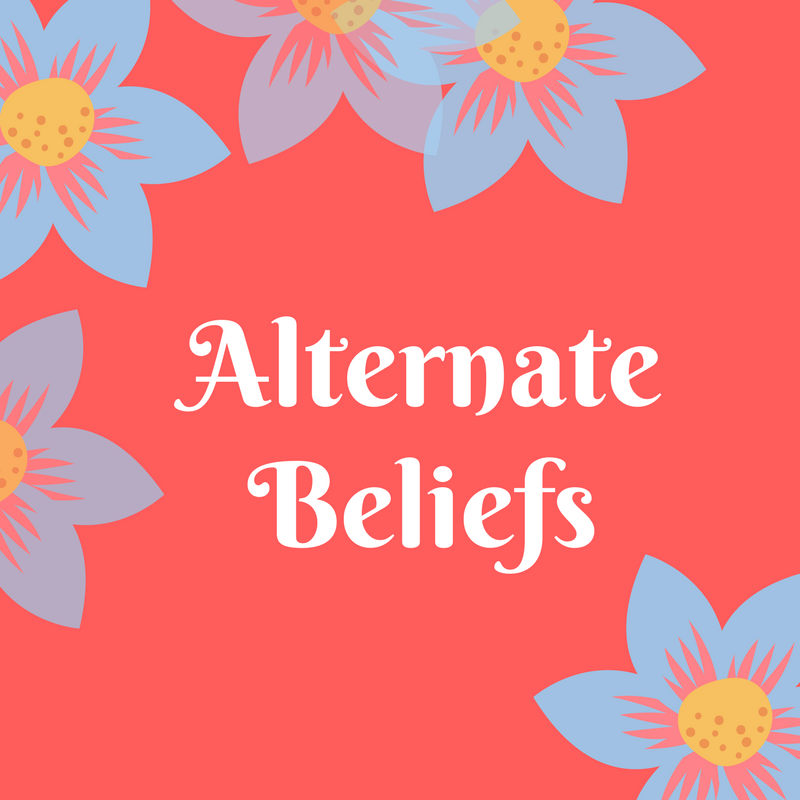 Alternate Belief Statements