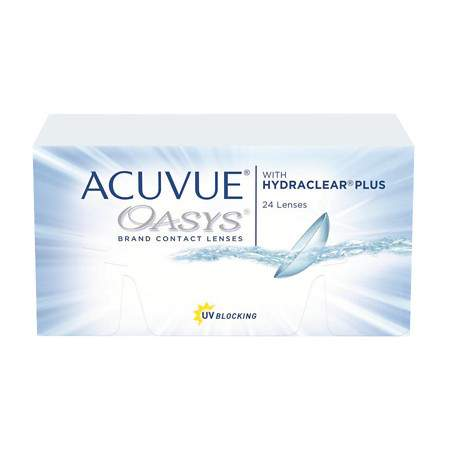 Acuvue Oasys with Hydraclear Plus 24 pack is only $113.95