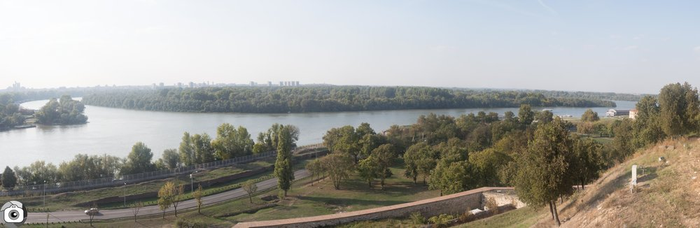 View from the Kalemegdan Fortress